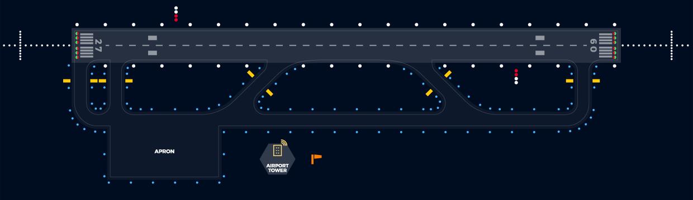 runway lights icao compliant solar runway lighting system rh solutions4ga com Airport Edge Lighting airport runway lighting diagram