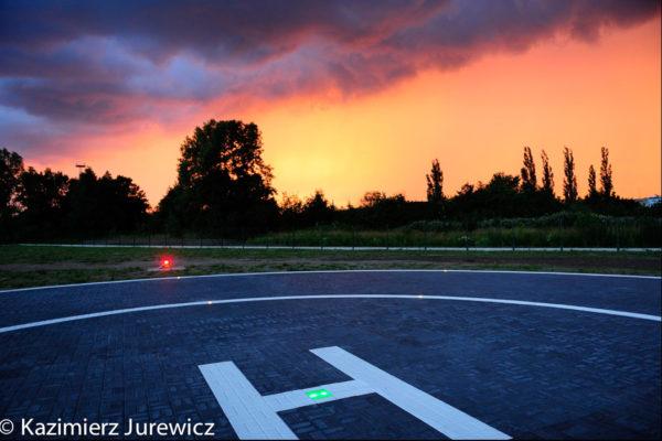 S4GA landing zone lights in Poland