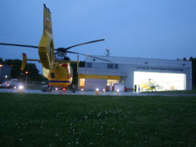 Helipad Lighting for Helicopter Air Rescue