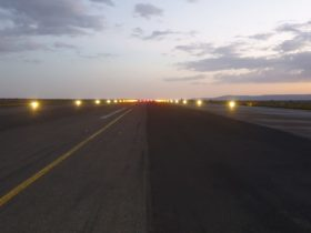 Solar Runway Edge Lights