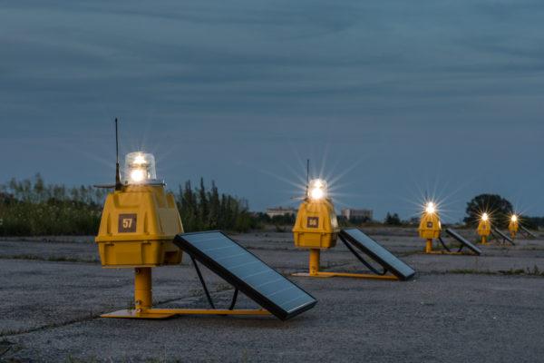S4GA Solar Runway Lighting