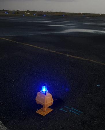Solar Taxiway Light