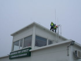 Airfield lights installation by S4GA engineers