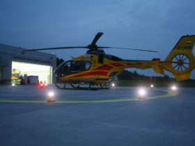 Helipad lights for Polish HEMS