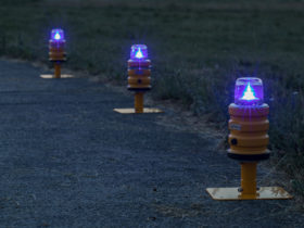 Portable Taxiway Light