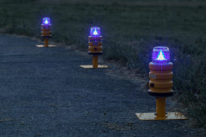 Temporary Taxiway Lights
