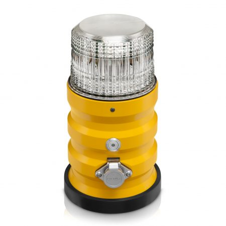 temporary runway lights white