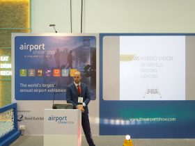dubai airport show innovation podium