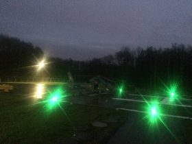 helipad tlof lights for military