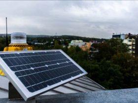 solar barricade lights