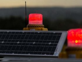 solar obstruction lights