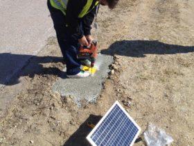 Solar Runway Lighting Installation S4GA