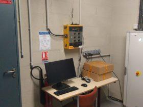 Airfield lighting control unit
