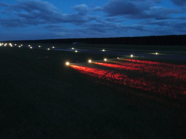 S4GA Solar Airport PAPI Lights