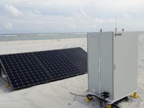 Solar engine for PAPI lights