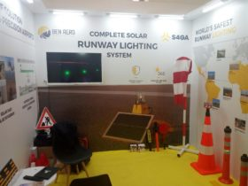 Solar airport lighting for mining S4GA Petroserv