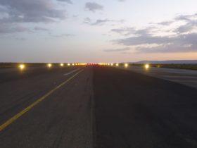 solar runway lights africa s4ga