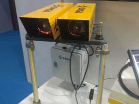 Solar PAPI lights at Airport Show