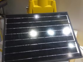 Solar runway lights Airport Show 2019 UAE