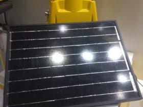 Solar runway lights Airport Show 2019 UAE