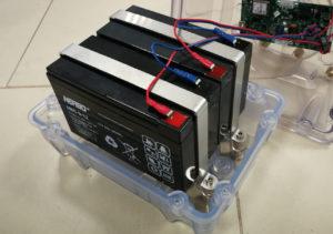 Powering of SP-401 solar airfield light