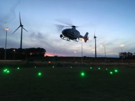 Helipad Landing Zone Lights