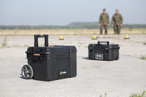 Portable helipad lighting kit