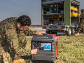 Honda diesel generators in S4GA Trailer