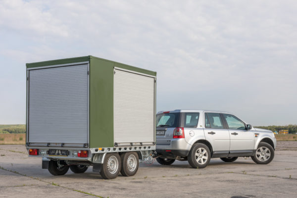 S4GA Portable Airfield Lighting Trailer