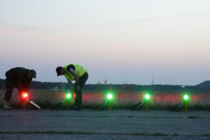 Solar Runway Lighting System with 5-level protection against system failure