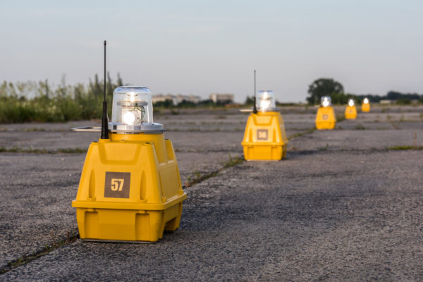 Portable airfield lighting