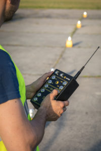 Portable runway lights remote activation_5-level protection against system failure_S4GA