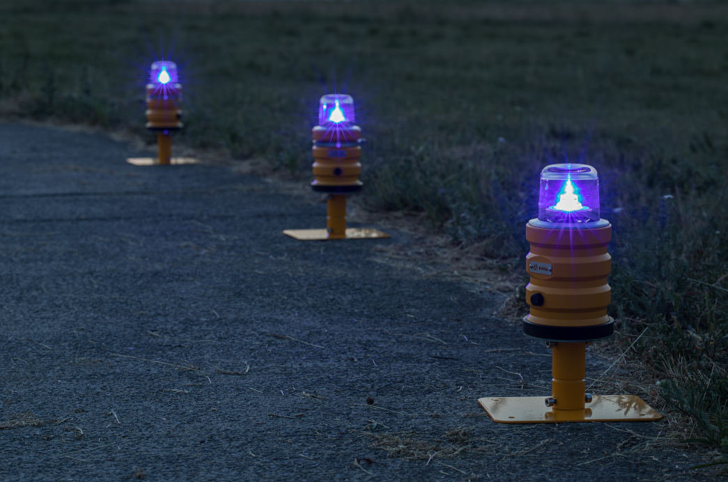 Temporary Airport Lighting - Certified Airfield Lights - S4GA