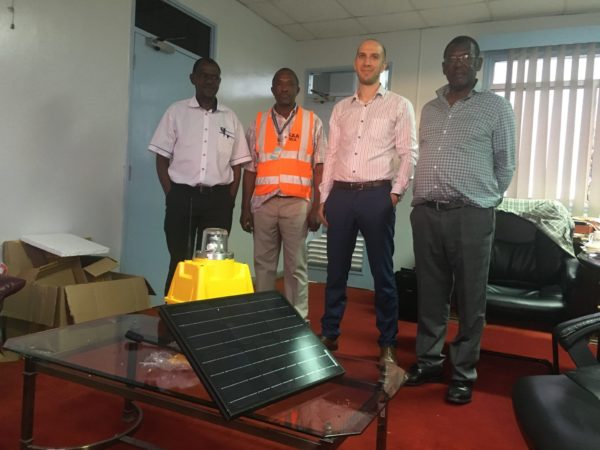 S4GA in Kenya, Africa_Presentation of solar airfield lighting