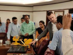 S4GA solar airport lighting India