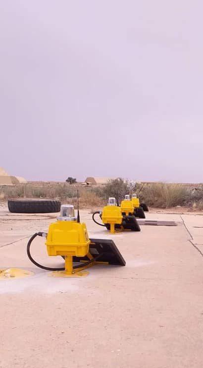 Solar airfield ground lighting