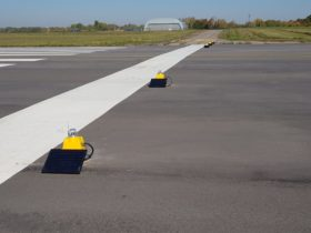 S4GA solar Airfield Lights at Kaunas, Lithuania