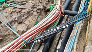 Electrical cables network