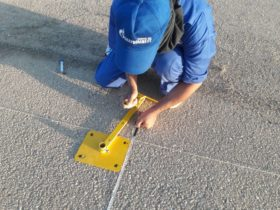 Installation of S4GA lights in Africa