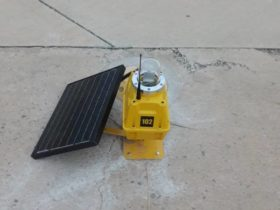S4GA solar runway threshold light