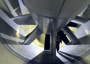 t-3 wind tunnel for jetblast test