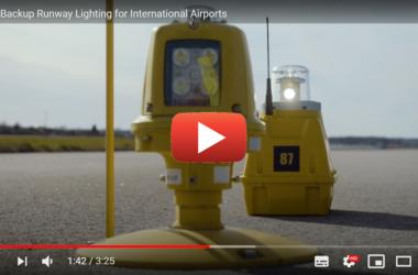 S4GA Backup runway lighting for international airports video Youtube