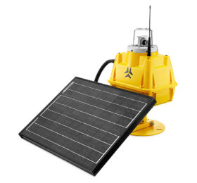 S4GA Solar Runway Threshold Identification Light
