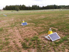 S4GA Solar Threshold Lights Poland Europe