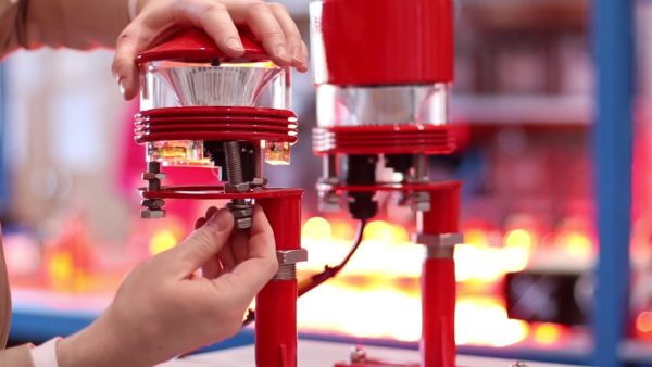 Assembling obstruction light