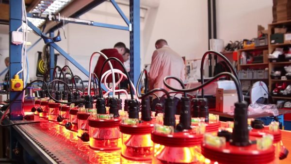 BSSTC Engineers at obstruction lights manufacturing