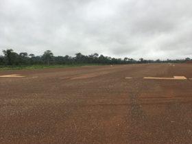 S4GA Runway Lights at mine airstrip West Africa