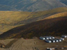 S4GA Runway Lights in Canada, Coffee Creek, Yukon