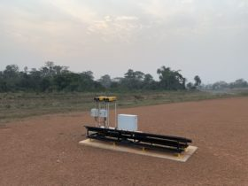 S4GA Solar A-PAPI Lights Ivory Coast Africa