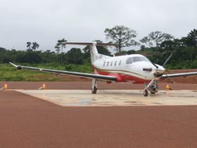 S4GA Solar Runway Lights Mining Ivory Coast Africa